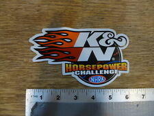 K&N Filters NHRA Horsepower Challenge  Sticker Decal