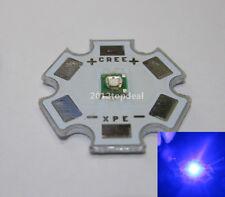 5pcs x CREE XPE XP-E 1W 3W Royal Blue LED 450-455nm with 20mm star base
