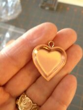 Dollhouse Miniature Copper Heart Shaped Pan - Artist Handcrafted -  1:12 Scale