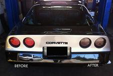 CORVETTE C4 13 piece smoked tinted tail light covers vinyl 84 85 86 87 88 89 90
