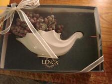 Lenox White Cornucopia New In Box