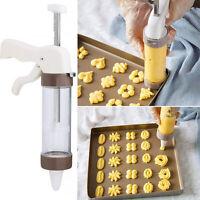 Cookies Icing Piping Gun Cake Decorating Syringe Cream DIY Baking Tool