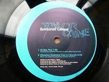 """Taylor Caine Bombshell Caberet 12"""" vinyl #1504"""