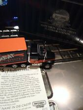 MATCHBOX HALLOWEEN HERSHEY MACK TRUCK SEMI PLATINUM EDITION