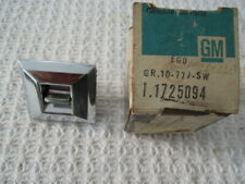 1977 Cadillac, 1973 1974 1975 1976 1977 1978 Buick Seat/Window Switch 1725094