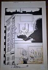 Armorines #0 Page 15 Original Ink art Jim Calafiore & Rod Ramos Valiant Comics