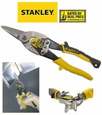"Stanley FatMax 10"" 250mm Straight Cut Aviation Metal/Tin Snips/Shears, 214563"