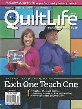 Quilt Life magazine Teacher training T-shirts Kids Japan Color value placement