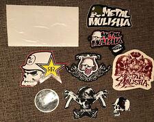 Metal Mulisha Stickers Lot Lot Of 8 & 1 Window Decal