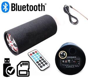 CASSA SUBWOOFER AMPLIFICATO AUTO BASSI 150W USB SD TELECOMANDO SPEAKER AUTO CASA