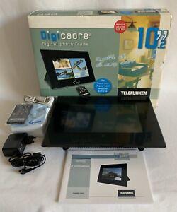 (K73) CADRE PHOTO NUMERIQUE TELEFUNKEN - ECRAN LCD 10.2 POUCES - NEUF