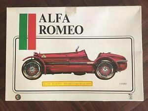 Pocher 1931 Alfa Romeo 8C-2300 Monza 1931 1:8 Scale Plastic Model Car Kit
