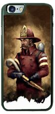 Fire Fighter Hero Save Lives Art Phone Case Cover For iPhone Samsung LG Google
