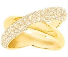 SWAROVSKI Crystaldust Ring Cross Gold   Gr.50     Neu