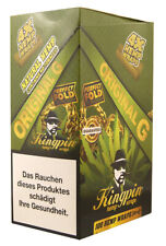 1x Box =100 Wraps Kingpin® Hemp Wraps ORIGINAL aromatisiert aus Hanf