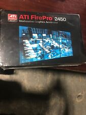 AMD FirePro 2450 x1 512MB PCI Express x1 Multi-View Workstation Graphics