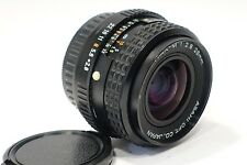 Pentax 28mm 1:2.8 SMC Pentax-M prime camera lens K series camera mount