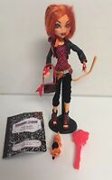 Monster High Toralei Stripe Doll with Pet Sweet Fang Complete Set EUC