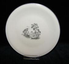 Fürstenberg Porzellan elfenbein mit Dekor & Rand Kuchenteller Teller Vintage
