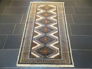 Feiner Handgeknüpfter Perser Orientteppich Buchara Jomut Kazak Carpet 170x95cm