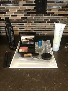 Mary Kay Bundle Lot Of 11 Brush Cleaner Lip Tint Blush Shadow Cotton On Perfume