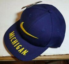 Vintage Nike Cap Hat Michigan State Snap Back 90's  Swoosh Blue