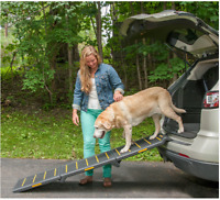 3a654399fe Outdoor Pet Ramp SUV Outdoor Heavy Duty Folding Ramps For Large And Small  Dogs