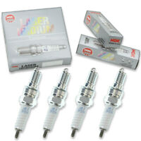 4pcs NGK 6777 Laser Iridium IMR9C-9H Motorcycle Spark Plug Tune Up Kit Set zm