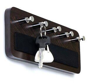 Key Hold Wall Mounted Key Holder/Key Rack Hooks Sky wood Wenge Big Shipping Free