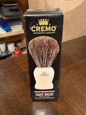 Cremo Shave Brush premium horsehair shaving cream brush