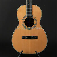 stansen 39 inch parlor style solid wood acoustic guitar