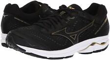 Mizuno Wave Rider 22 Men's Running Shoes (Size 8) Black Gold