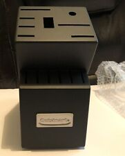 Cuisinart Black Wood Storage Knife Block 14 Slot Block Only Nwob
