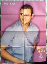HOME AND AWAY / WILL & VINNIE Original Vintage Magazine Poster