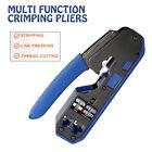 RJ45 Ethernet Network Tool Set Network Cable Crimper Crimping Plier Stripper US