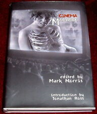 CINEMA MACABRE..MARK MORRIS..1sT ED HB NEAR MINT LIMITED EDITION OF 500 SIGNED