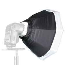walimex Octagon Softbox Ø 30cm für Kompaktblitze, mit Frontdiffusor