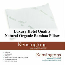 Kensingtons® Bamboo Orthopedic Head Neck Back Support Pillow Anti Bacterial Soft