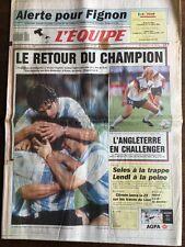 Journal l'Equipe - 4 Juillet 1990 - 45 eme année - n 13735