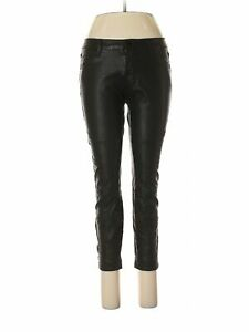 Urban Outfitters Black Vegan Faux Leather Moto Biker Pants New Festival Boho 90s