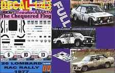 DECAL 1/43 FIAT 131 ABARTH MAKINEN/ SALONEN/ LAMPINEN RAC 1977 (FULL) (04)