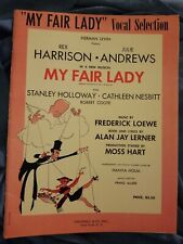 New ListingMy Fair Lady Vocal Piano Song Book Sheet Music