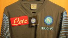 neu,Macron Neapel Teamline Trikot XL Naples Napoli 14/15 jersey,maglia,maillot