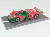 SPARK 1:43 MAZDA 787B LM 1991 nº 55 MC9116 WINNER Weidler Herbert Gachot Le Mans