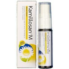 Kamillosan M Spray Oral care Bad Breath anti inflammatory cough remedies 15 ml