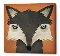 Epic Graffiti 'Timber Wolf' by Ryan Fowler, Giclee Canvas Wall Art