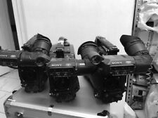 3 x Sony Broadcast Camcorder DSR-450WS with DVCAM deck NTSC they all working