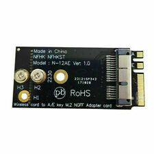NGFF M.2 Key A/E Adapter to BCM943224PCIEBT2 BCM94360CS2 Wireless Card for Mac