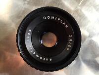 Für M42 Domiplan 2.8/50 Objektiv lens  - Classic-Camera-STORE DRESDEN