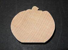 "Wood Unfinished Pumpkins 1 1/2""  30 Pieces"